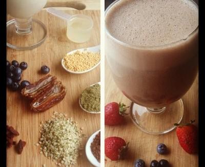 Cacao Berry Power Shake
