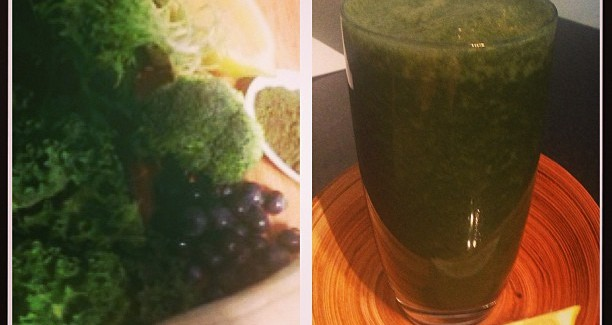 Flu Fighter Green Smoothie