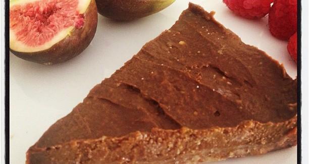 Raw Chocolate Fig Cake