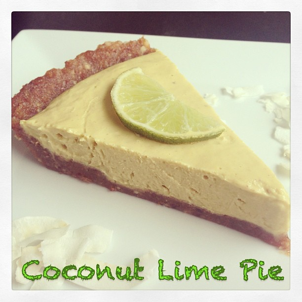 Coconut and Lime Pie