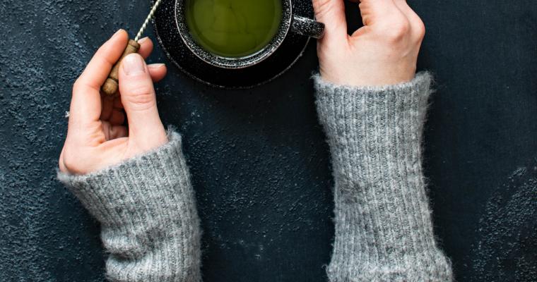 Green Tea's Healing Magic